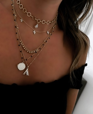 """COLLIER """"INITIALE"""" or"""