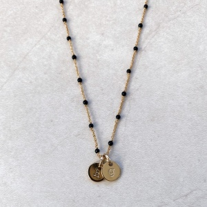 "Collier ""VOYELLE"" OR personnalisable"