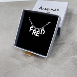 """COLLIER """"KAPPA"""" ARGENT..."""